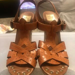 DV by Dolce Vita wedge heels, size 7.5